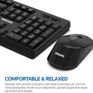 کیبورد و موس Philips C354 spt6354 Wireless Keyboard And Mouse Combo
